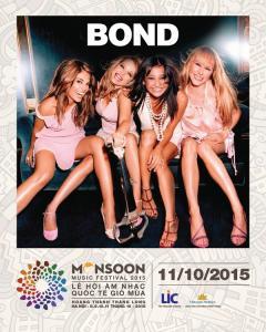Tứ tấu nổi tiếng BOND lần đầu tiên trình diễn tại MMF 2015