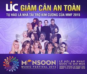 Các tiết mục đặc sắc trong đêm diễn đầu tiên của Monsoon 2015