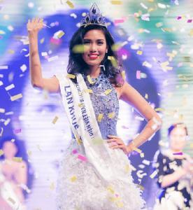 LIC đồng hành cùng Lan Khuê trên chặng đường chinh phục vương miện Hoa hậu Thế giới 2015