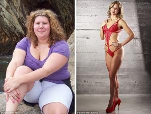 """Tiết lộ cách """"xẻ đôi cân nặng"""" của cô gái từ 105kg trở thành người mẫu bikini"""