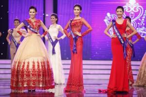 Ngắm thí sinh Đường Tới Vương Miện Hoa Hậu Thế Giới kiêu sa trong trang phục dạ hội