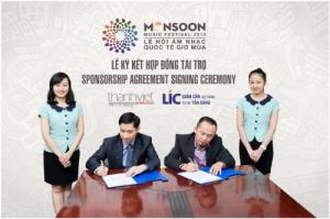 LIC tiếp tục là nhà tài trợ kim cương cho Lễ hội âm nhạc quốc tế gió mùa (MMF) 2015