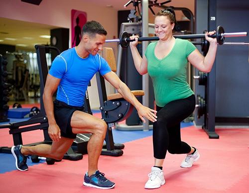 vận động giảm cân