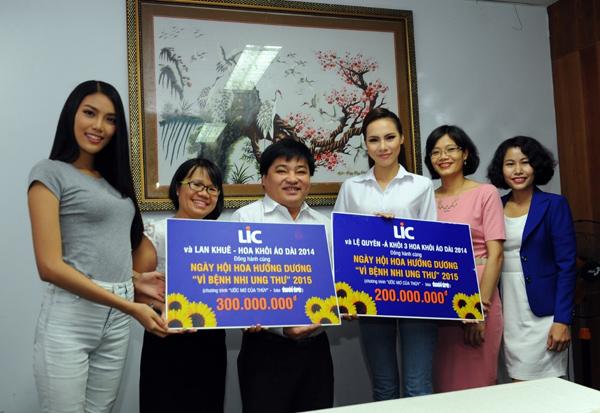 Nhãn hàng giảm cân LIC và Lan Khuê chung sức cho chương trình Ước mơ của Thúy