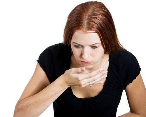 việc cố nôn ra sau khi ăn không đem lại dinh dưỡng