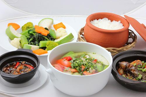 buổi trưa ăn gì để giảm cân
