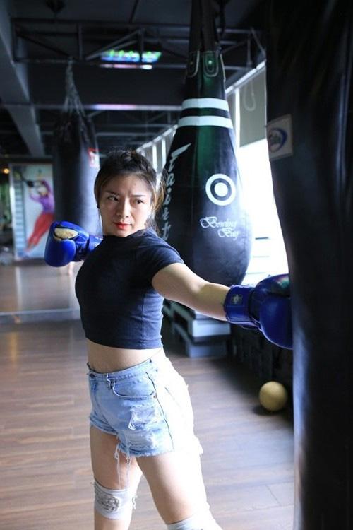 giảm mỡ bụng sau sinh, bước nhảy ngàn cân