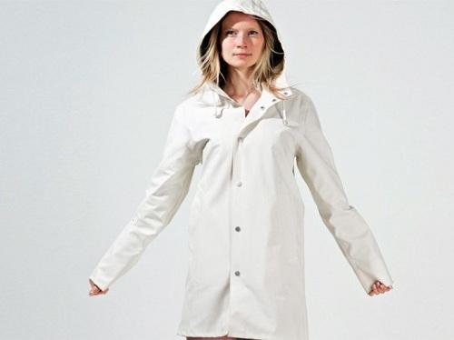 mặc áo mưa giảm cân