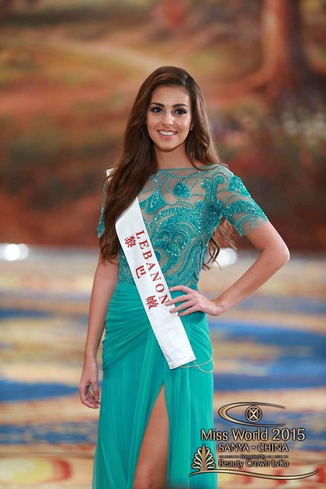 Hoa hậu Liban được coi là ứng cử viên sáng giá.