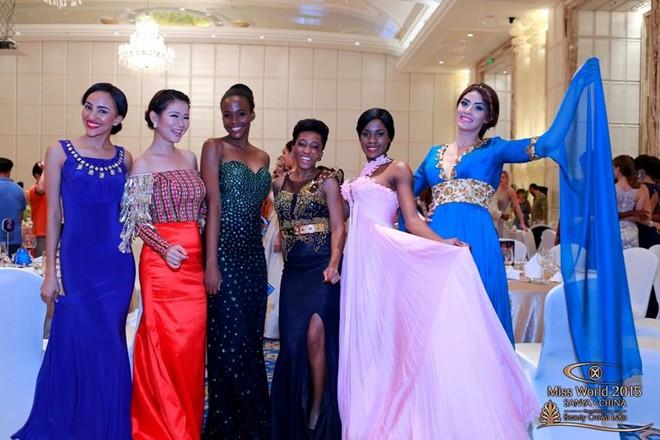 Hoa hậu Botswana, Singapore, Nigeria, Lesotho