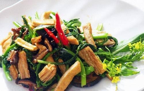 Các món ăn giúp giảm cân nhanh có cả món xào