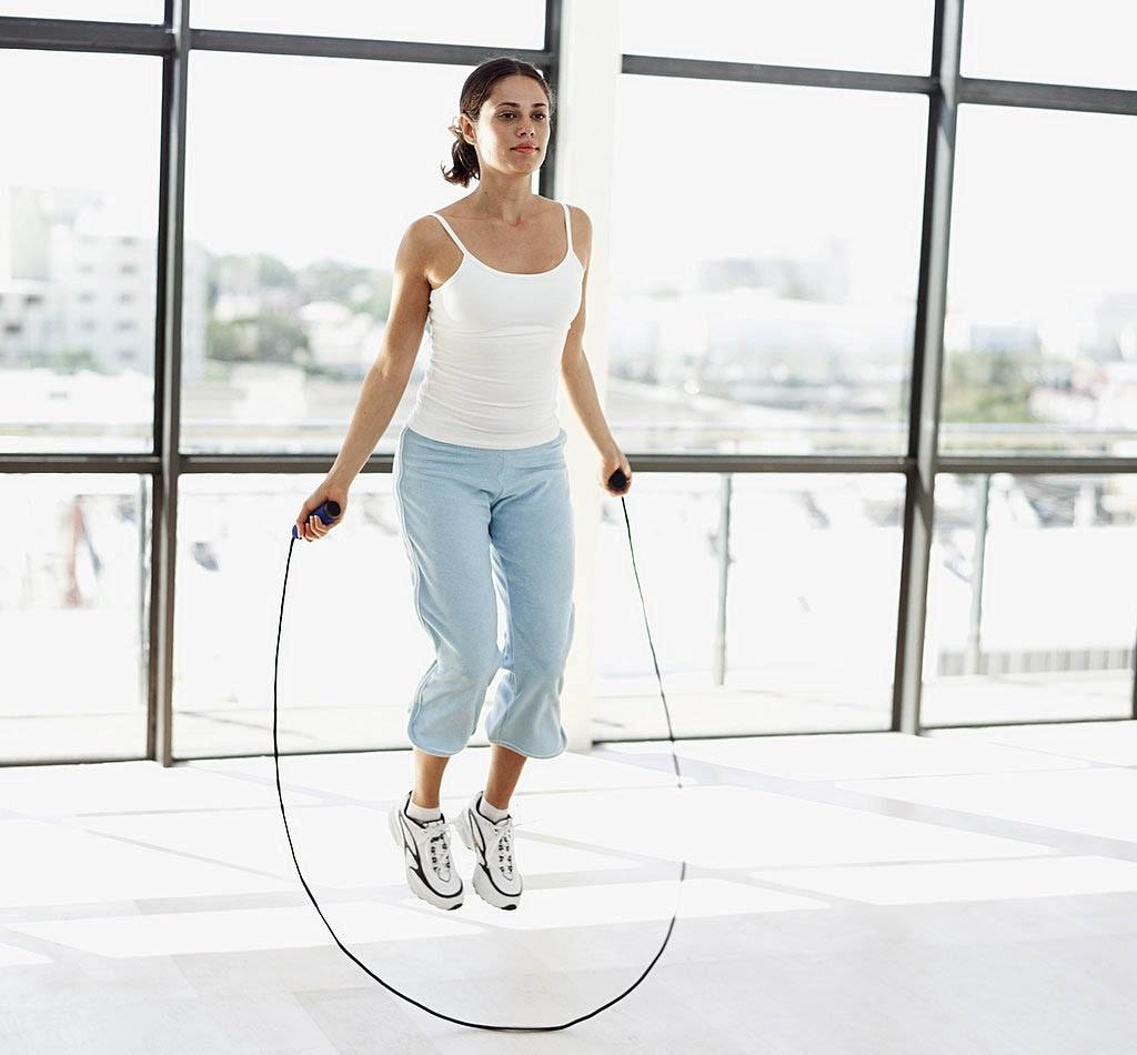 Nhảy dây giảm cân nhanh nhất