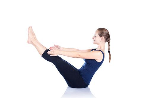 áp dụng động tác V thẳng cũng là cách giảm mỡ bụng hiệu quả nhất