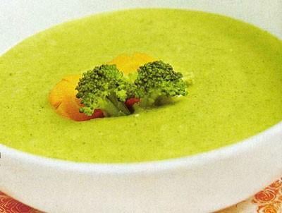 Súp bông cải xanh giảm cân nhanh
