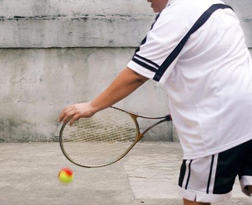 Nếu chăm tập thể thao nhưng không kết hợp với chế độ ăn hợp lý người chơi thể thao sẽ dễ lên cân.