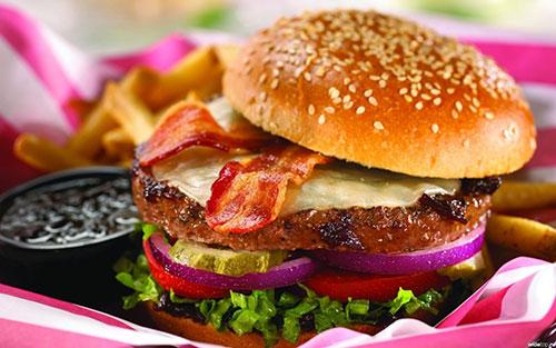 giảm mỡ bụng tự nhiên bằng việc ăn ít thức ăn nhanh