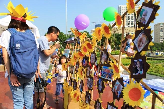 Ngày hội hoa hướng dương: Chung tay vì bệnh nhi ung thư 2015 2